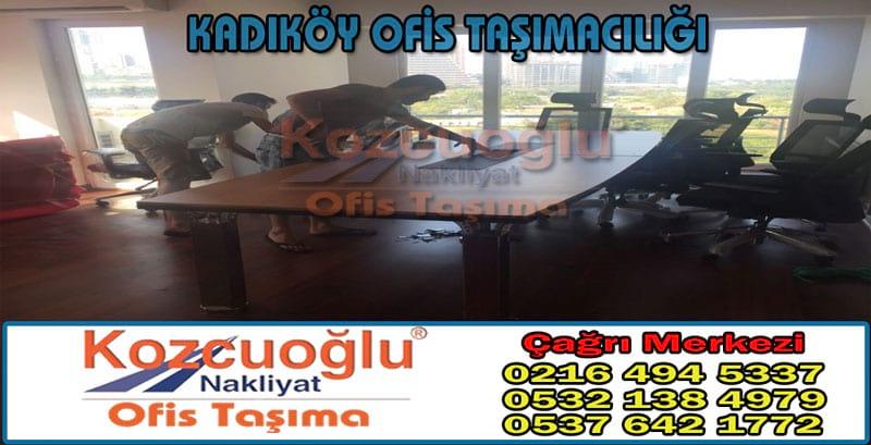 Kadıköy Ofis Taşımacılığı - İstanbul Kozcuoğlu Kadıköy Ofis Taşıma Firmaları Şirketleri