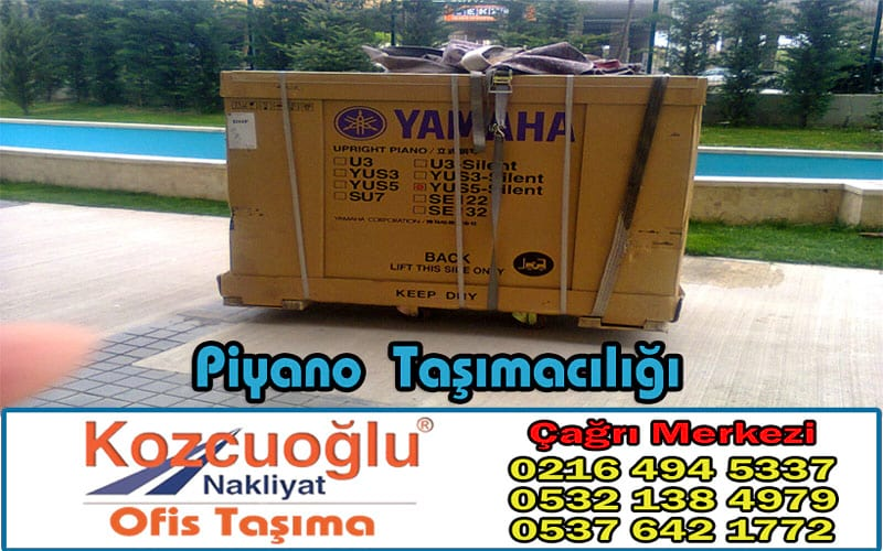 Piyano Taşımacılığı - İstanbul Piyano Taşıma Şirketi Sigortalı Garnatili Nakliyat
