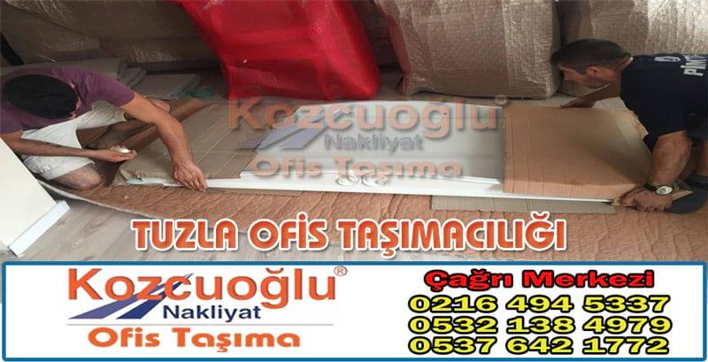 Tuzla Ofis Taşımacılığı - İstanbul Kozcuoğlu Tuzla Ofis Taşıma Firmaları Fiyatları