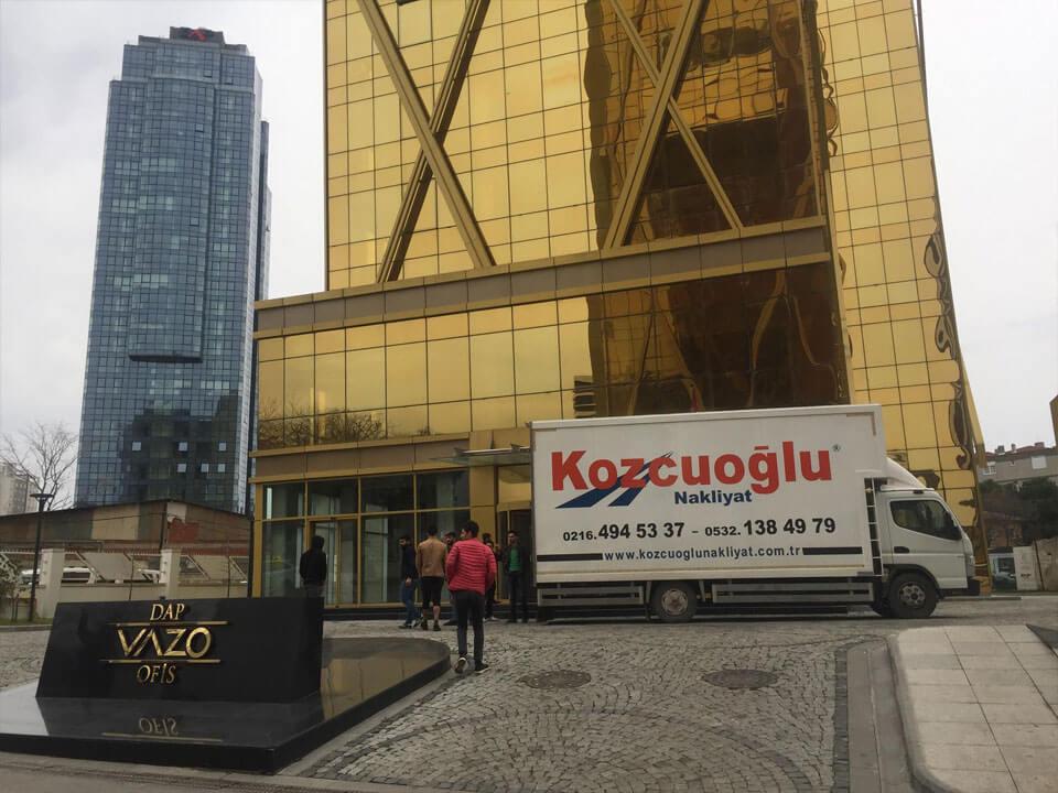 kozcuoğlu istanbul ofis taşıma firması